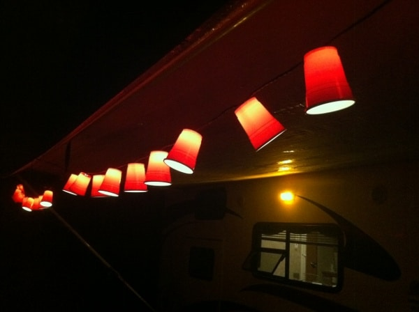 Red Solo Cup String Lights