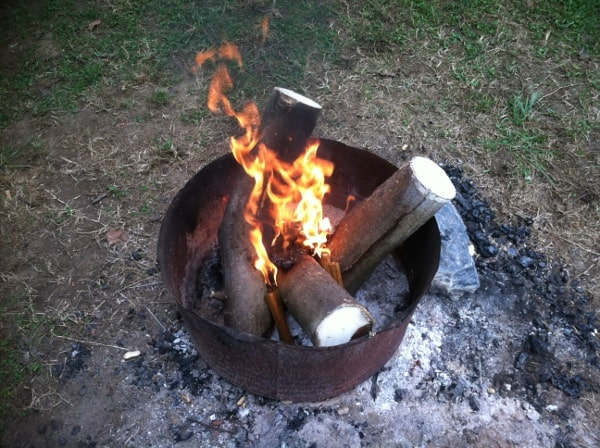 What to bring camping: firewood