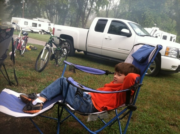Prepare for camping in advance so you can really relax while there