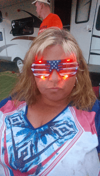 Gettin' in the spirit of Independence Day!