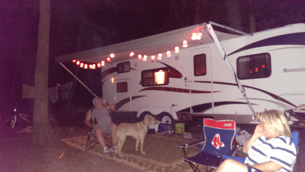 Cozy camping relaxation!
