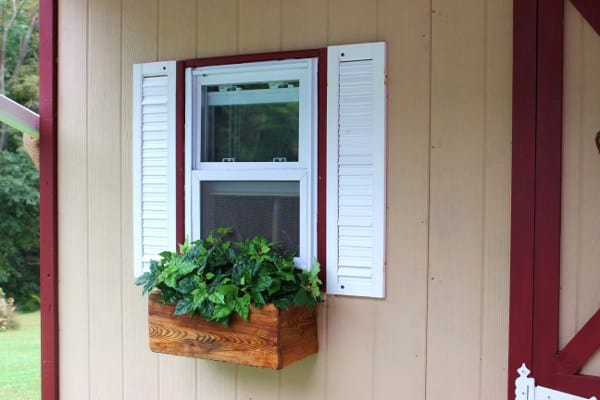 Upcycling materials you already have at home to build a potting shed