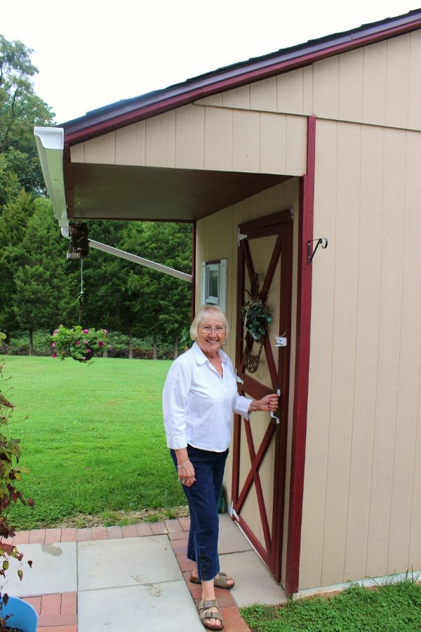 Shirley and her She-Shed