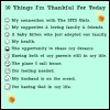 10 Things I'm Thankful For Today