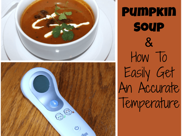 Pumpkin Soup & How To Easily Get An Accurate Temperature