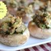 Stuffed Mushrooms, Jimmy Dean Style
