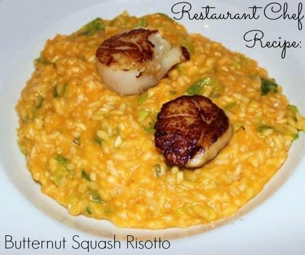 Restaurant Chef Recipe: Butternut Squash Risotto