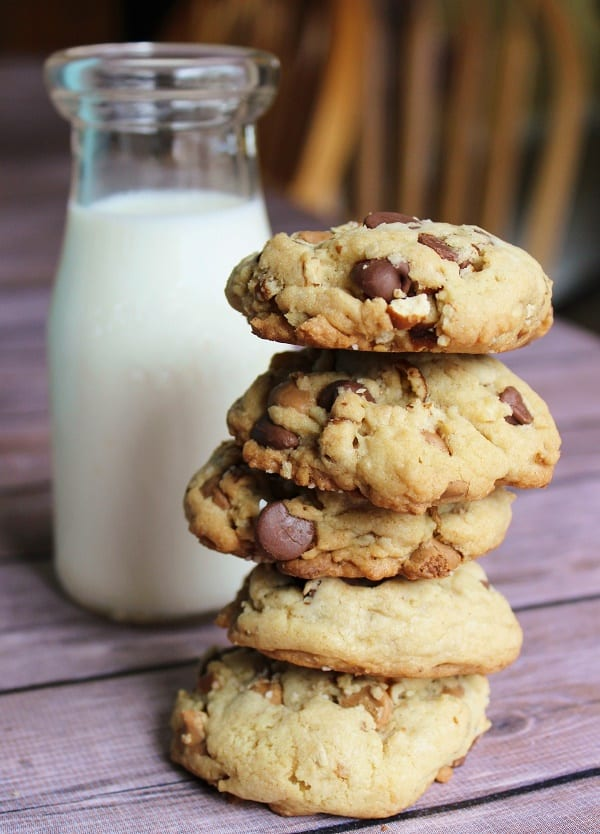 Chocolate Chip Cookie Recipe With Peanut Butter And Pretzels