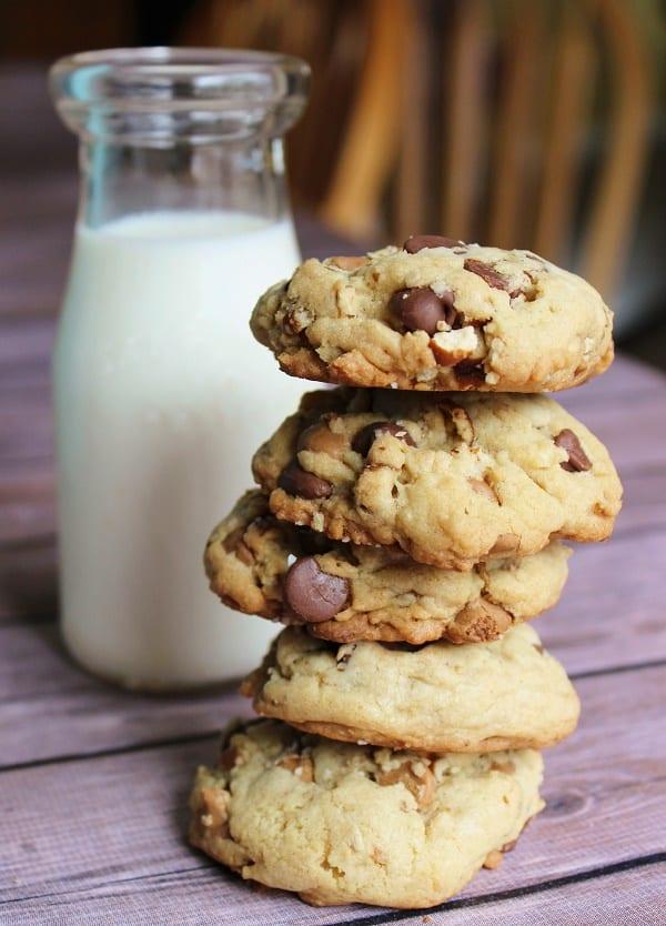 Chocolate Chip Peanut Butter Pretzel Cookie Recipe