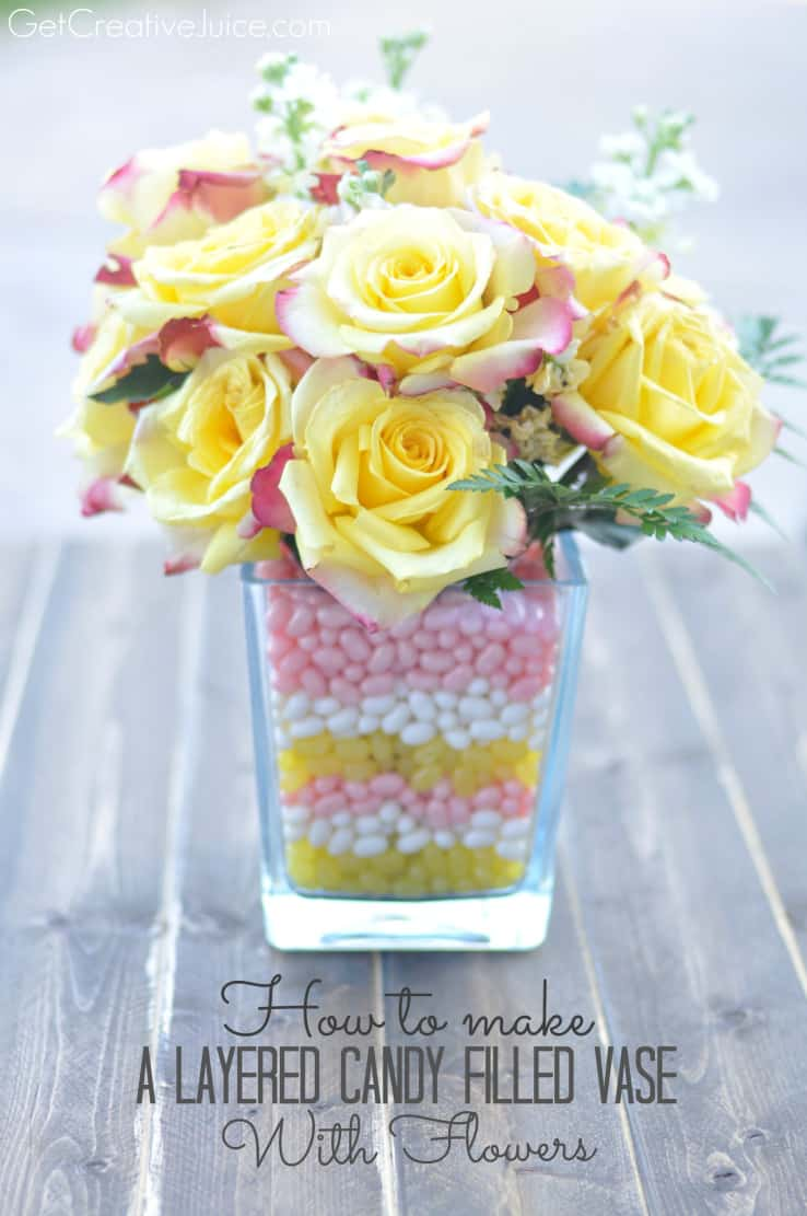 How-to-make-a-layered-candy-filled-vase-with-flowers-tutorial