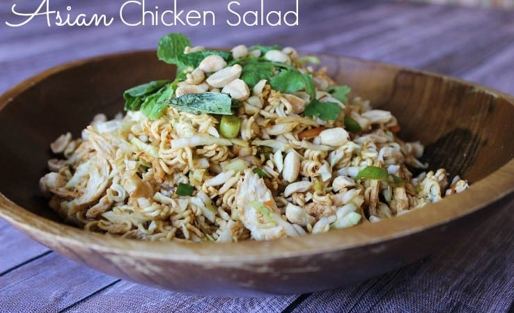 Asian Chicken Salad – 6 Weight Watchers Points Plus Value