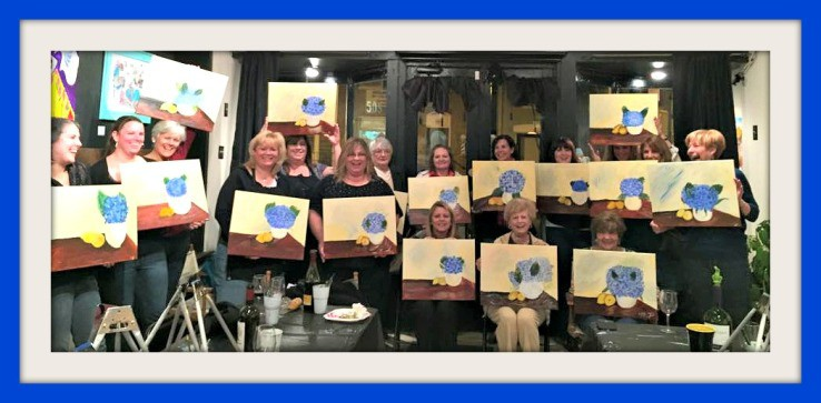 A Paint Night we won't soon forget