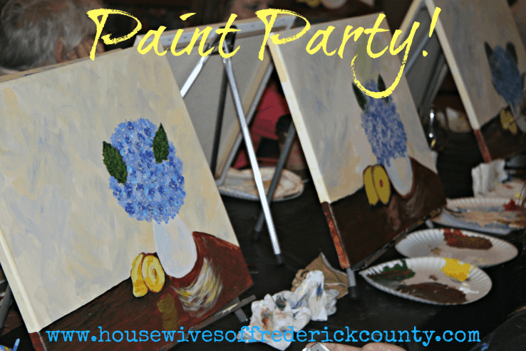 Paint Night in Frederick Md: Great Paint Parties!