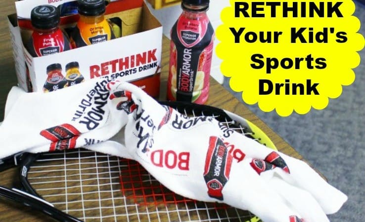 Rethink Your Kid's Sports Drink