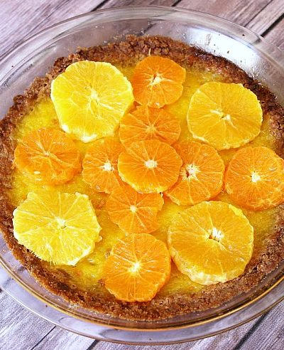 Fresh & Easy Orange Tart
