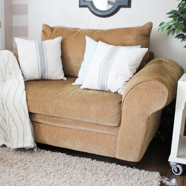 Grain Sack Pillow SQUARE-7