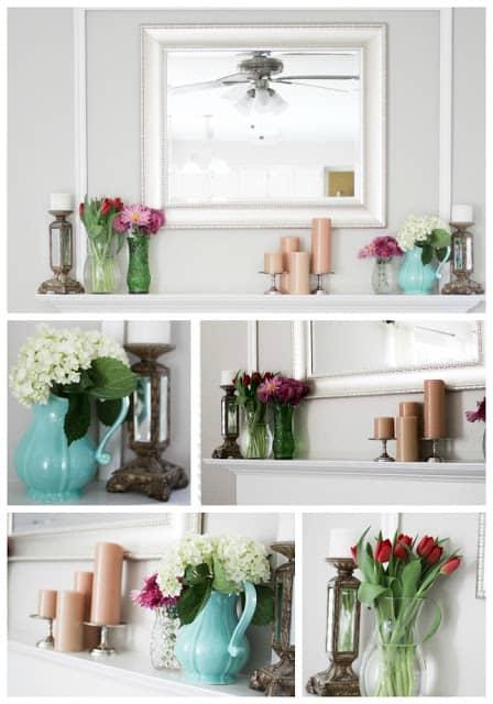 Mantel Makeover- DIY Home Decorations Ideas