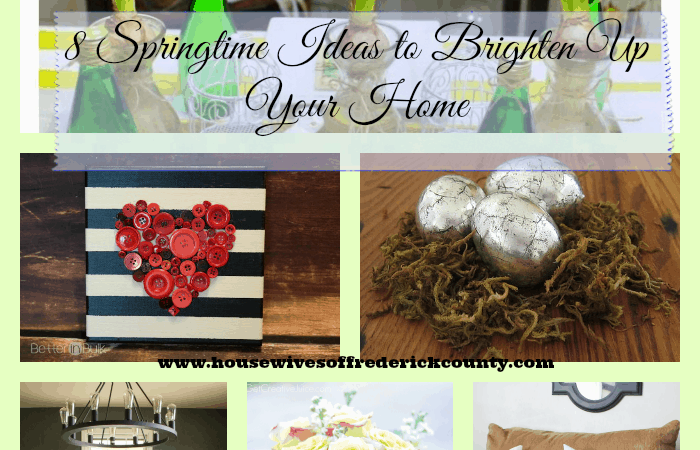 8 Springtime Ideas to Brighten Up Your Home!