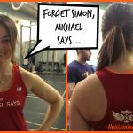 forget simon, michael says