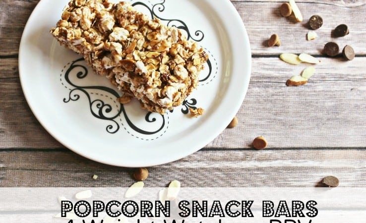 Popcorn Snack Bars – 4 Weight Watchers Points Plus Value