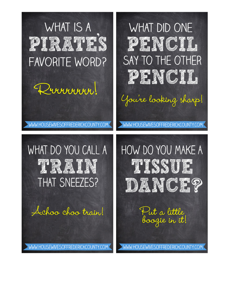 Knock-Knock-Lunch-Printables