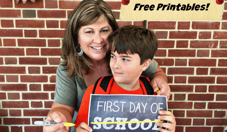 Back To School Free Printables!