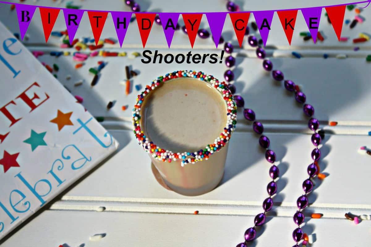 Birthday Cake Shooter