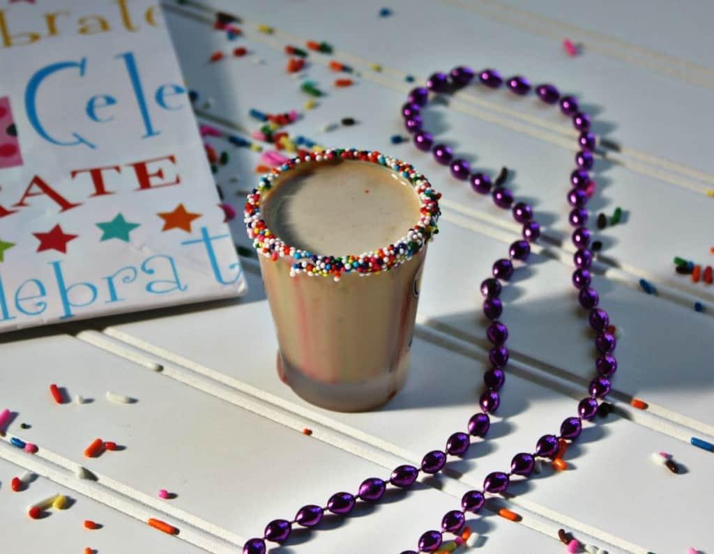 Birthday Cake Shooter Recipe! Cheers To Your Birthday!