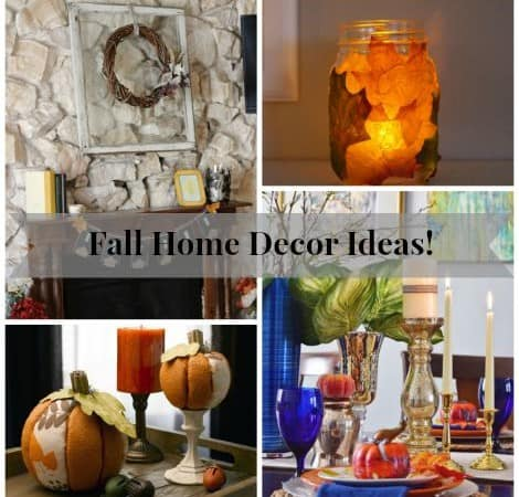 Fall Home Decor Ideas!