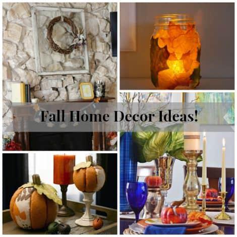 DIY Fall Decor Ideas