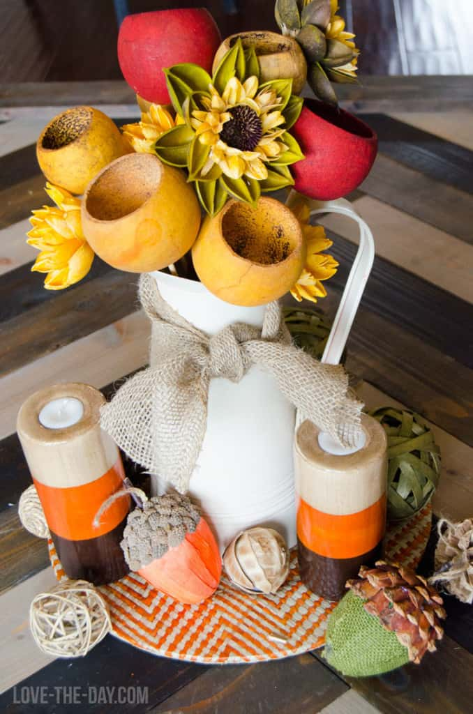 Fall Centerpiece DIY Fall Decor Ideas