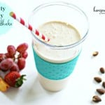 Fruity Nutty Protein Shake
