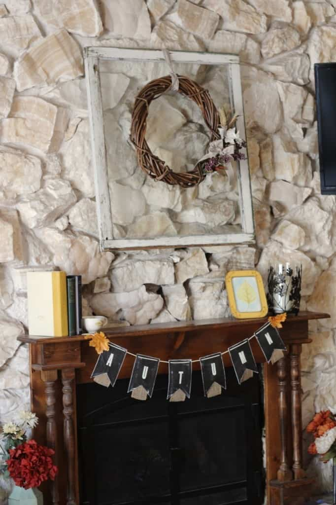 Beautiful Fall Mantel DIY Fall Decor Ideas
