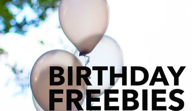 Birthday Freebies in Frederick