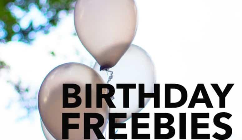 Birthday Freebies in Frederick