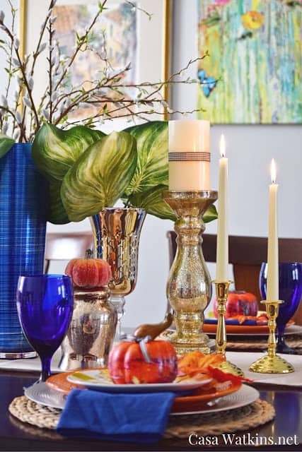 Fall tablescape DIY Fall Decor Ideas