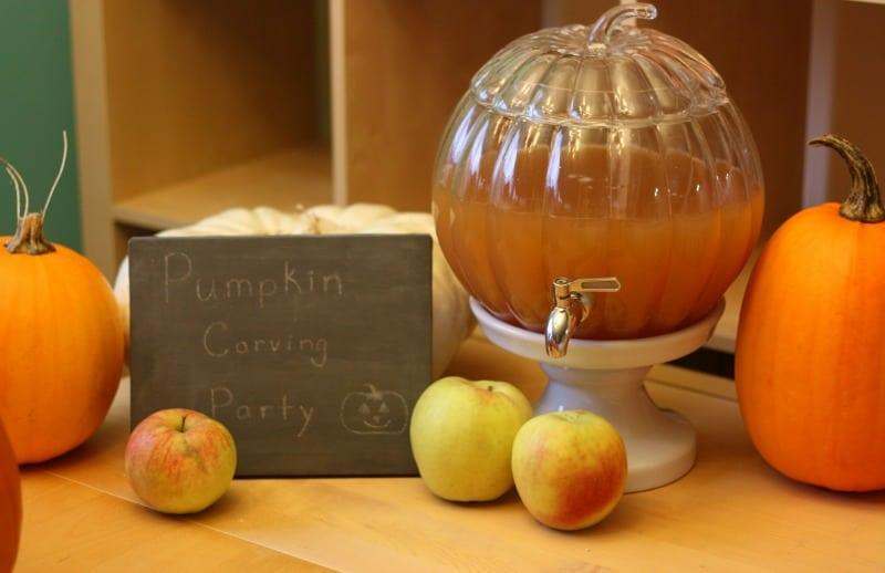 Pumpkin-Drink-Dispenser-from-Pottery-Barn