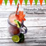 Watermelon Jalapeno Frozen Margarita