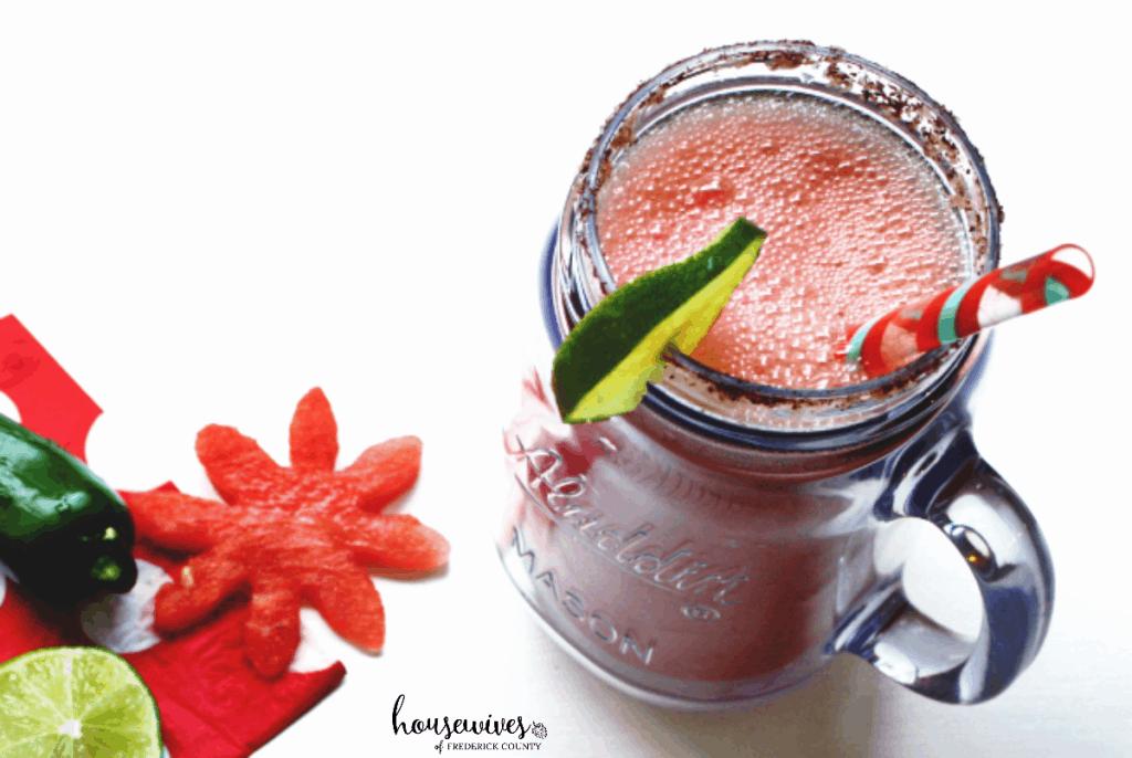 Frozen Margarita Recipe: Watermelon Jalapeno