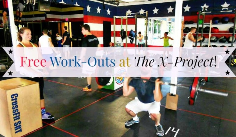 Free Work-Outs at The X-Project!