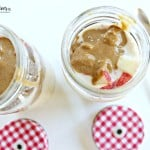 Apple Almond Butter Overnight Oatmeal