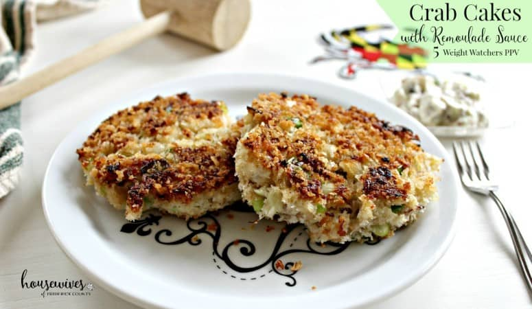 Weight Watchers Crab Cakes with Remoulade Sauce