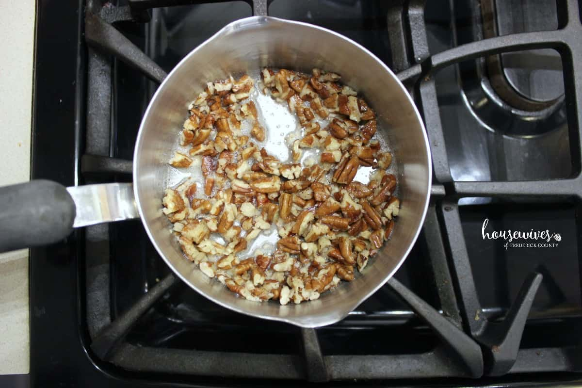 Toasting your pecans