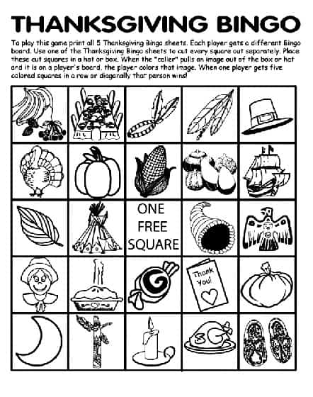 image regarding Thanksgiving Bingo Printable called Absolutely free Thanksgiving Printables! - Housewives of Frederick County