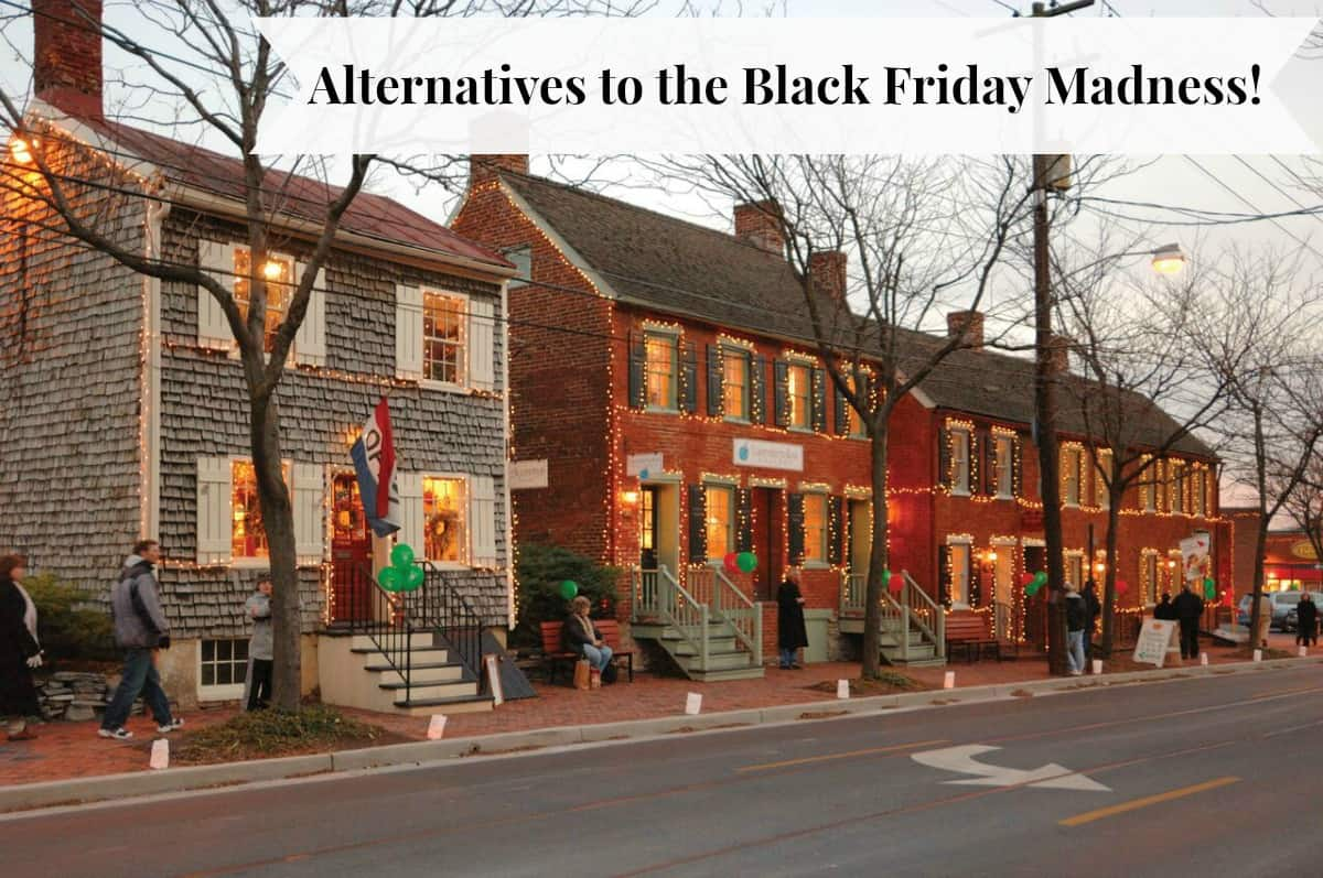 Alternatives to the black friday madness housewives for Craft store frederick md