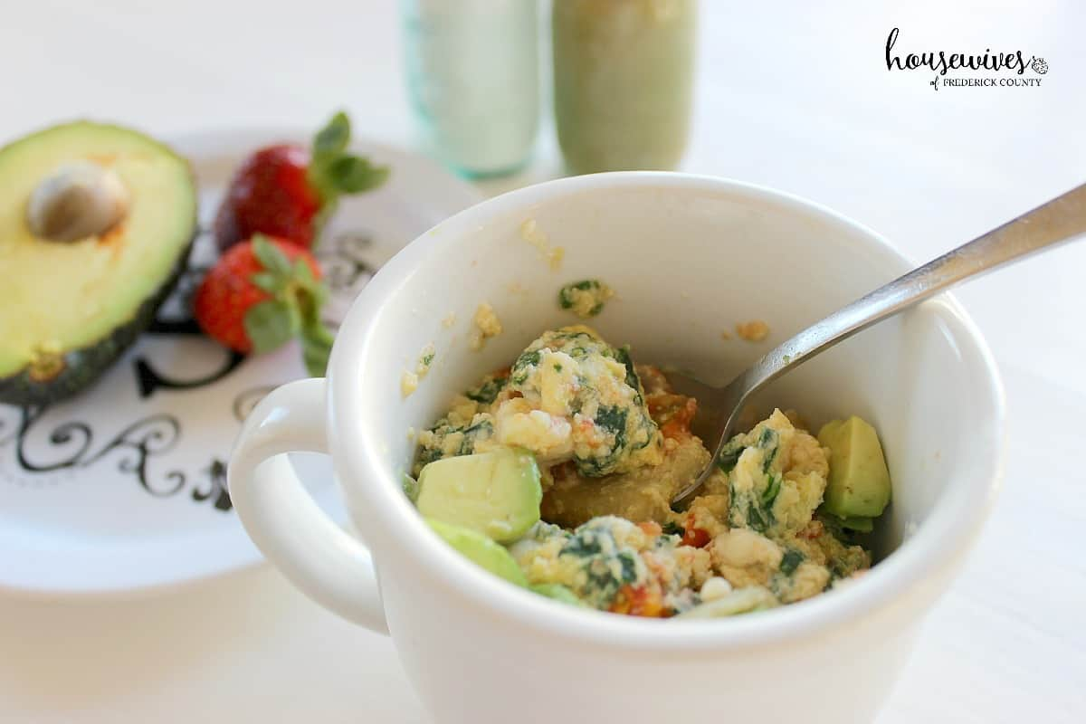 Eggs in a Cup Recipe - So easy and healthy