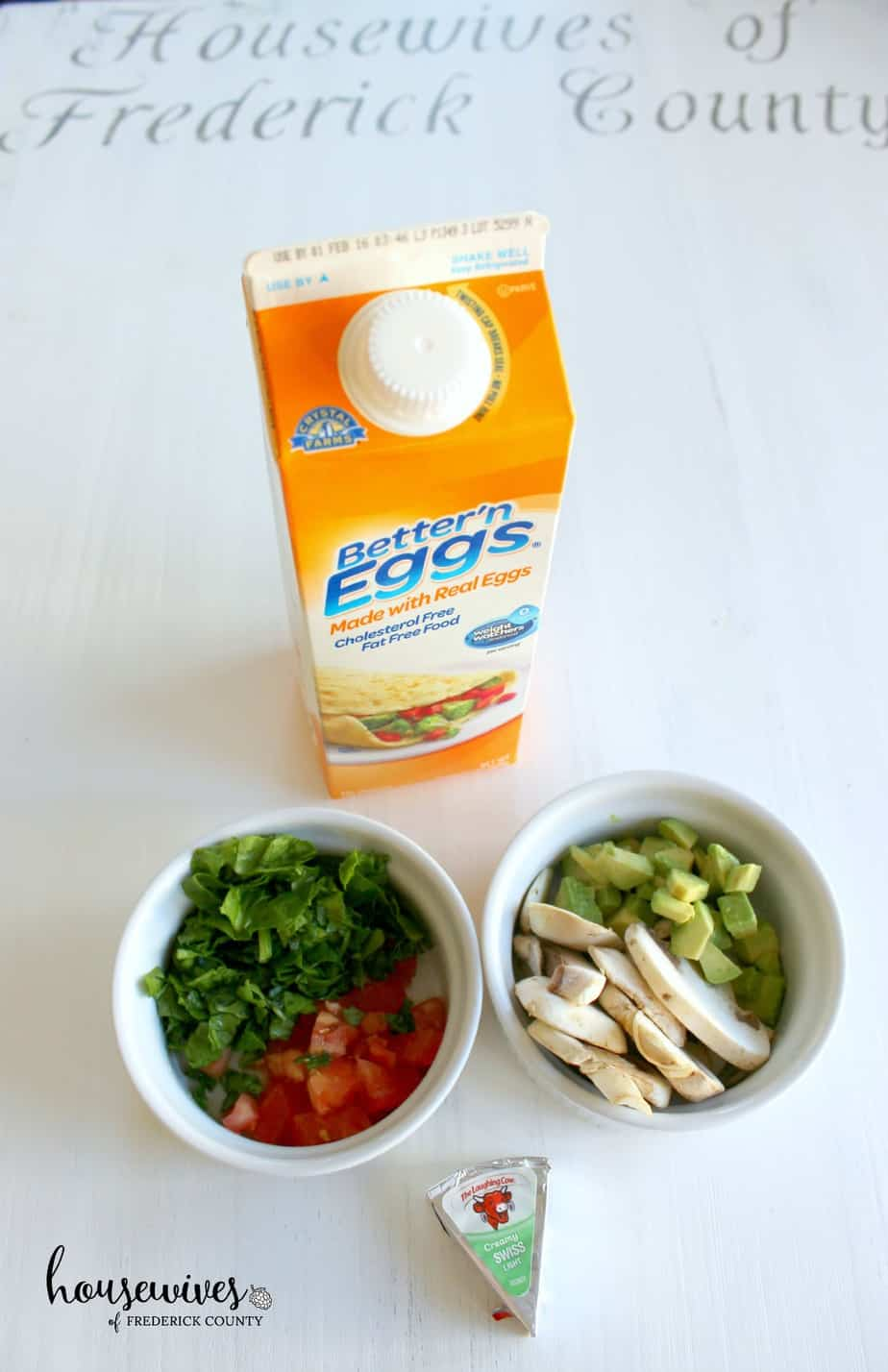 Eggs in a cup recipe ingredients