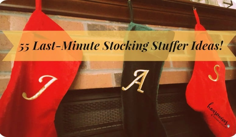 55 Last-Minute Stocking Stuffer Ideas!