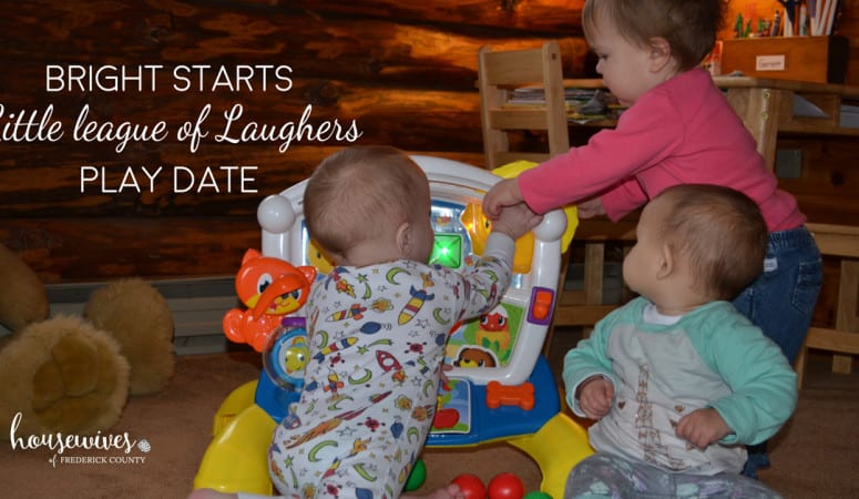 "Bright Starts ""League of Little Laughers"" Play Date"