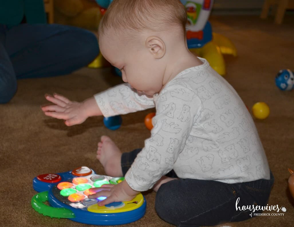 Bright Starts League of Little Laughers Play Date